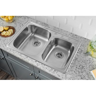 Sink Bowls For Kitchen Swan surfaces 25 x 18 double basin drop inundermount kitchen sink 33 x 22 drop in double bowl kitchen sink workwithnaturefo