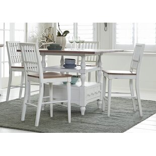 Pineville 5 Piece Dining Set