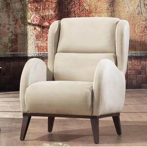 Danos Modern Wingback Chair by Brayden Studio