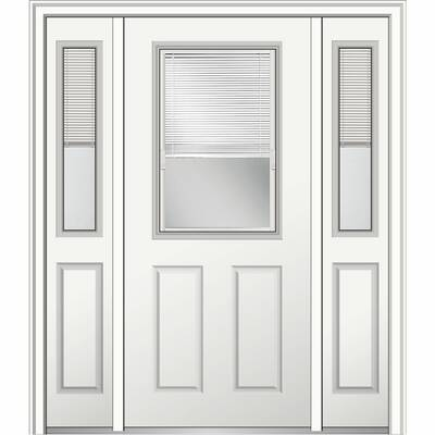 Verona Home Design 2 Panel Ready To Install Steel Prehung Front
