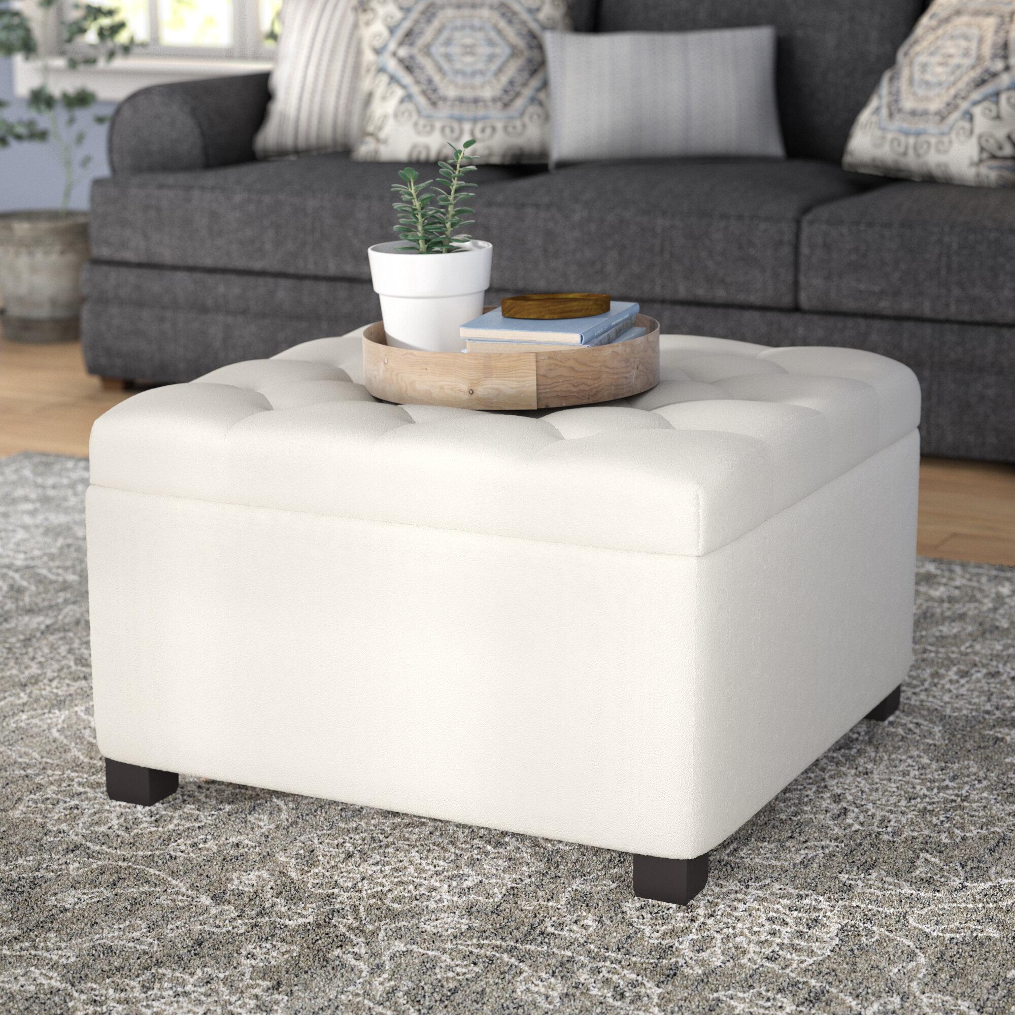 Darby Home Co Avis Storage Ottoman & Reviews | Wayfair