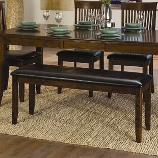Alita Wooden Two Seat Bench