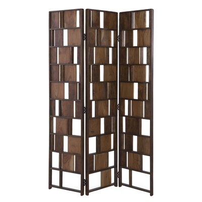 Brayden Studio Kisner 3 Panel Room Divider