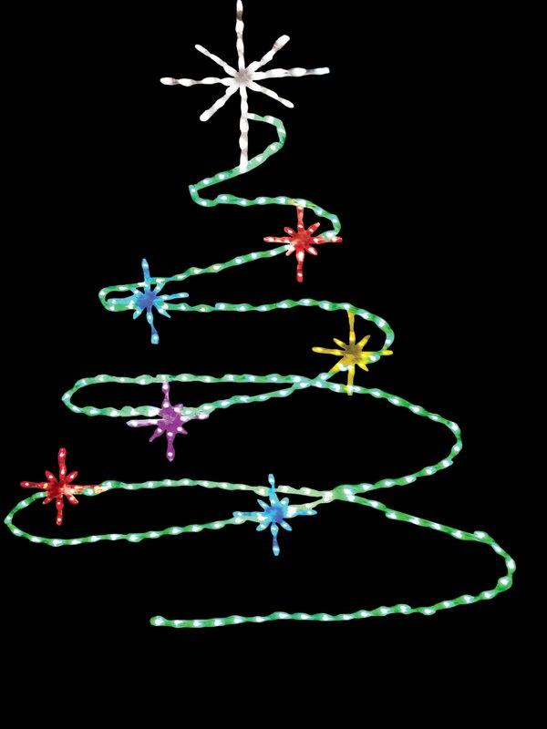 Brite Ideas Spiral Christmas Tree LED Light | Wayfair