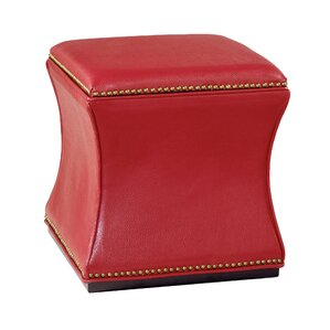 Bohannon Leather Storage Ottoman by Red Barrel Studio