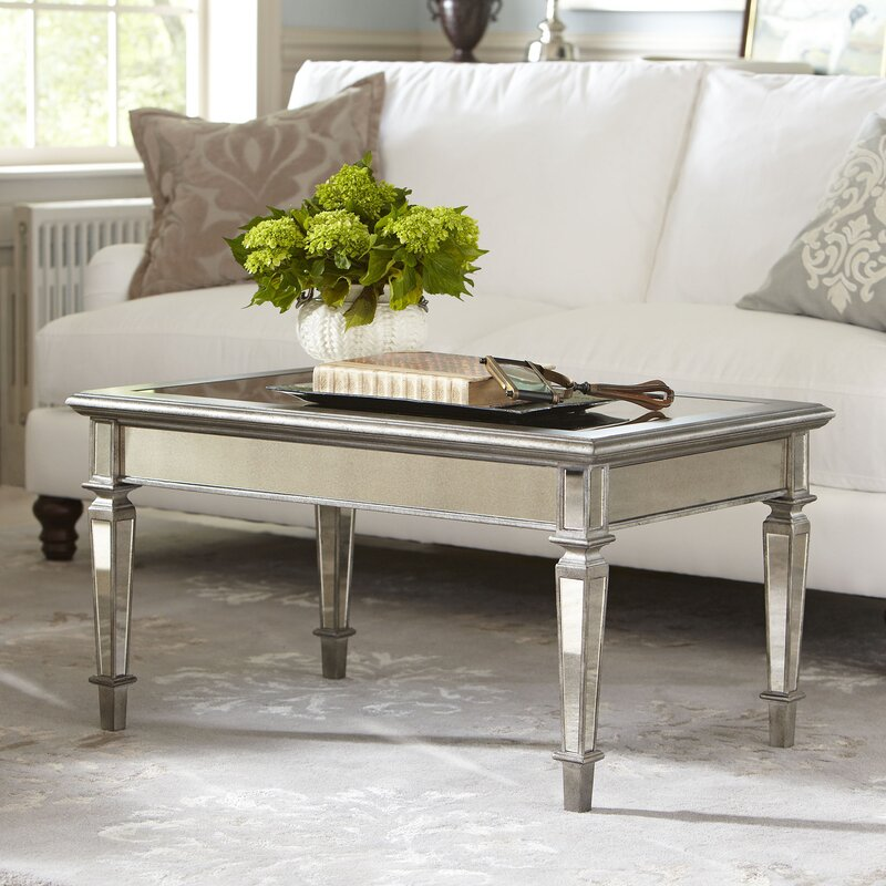 Leighton Mirrored Coffee Table Part 67