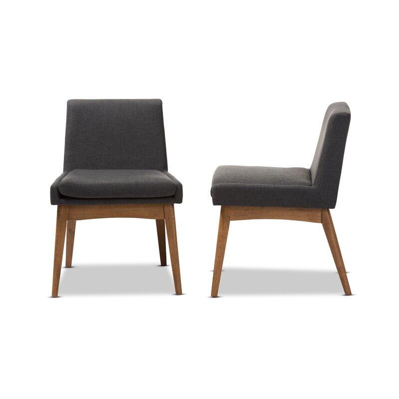 Stallman Mid Century Modern Upholstered Dining Chair
