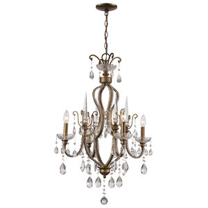 Blandford 4-Light Crystal Chandelier