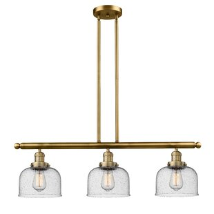 Brass Kitchen Island Pendants Youll Love Wayfair - Brass kitchen light fixtures