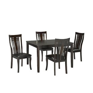 Hannum 5 Piece Dining Set