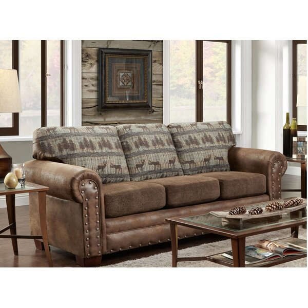 American Furniture Clics Teal Deer Lodge Sleeper Sofa Reviews Wayfair