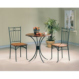 Warsaw 3 Pieces Bistro Pub Table Set