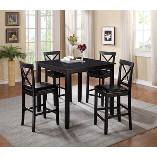 Pineiro Square 5 Piece Dining Set (Set of 5)