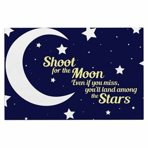 'Moon and Stars Quote' Doormat