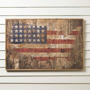american flag wall art Wall Art American Flag | Wayfair american flag wall art