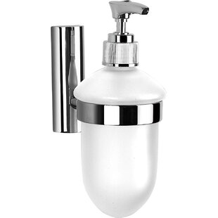 Crawford Wall Mounted Soap Dispenser. By Belfry Bathroom