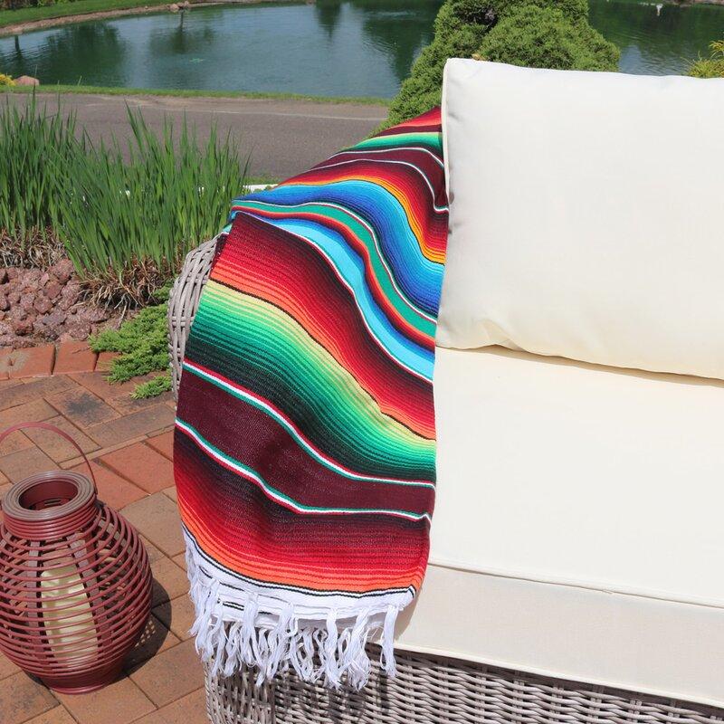 extra large mexican serape hammock blanket sunnydaze decor extra large mexican serape hammock blanket      rh   wayfair