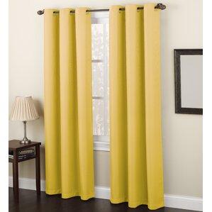 Yellow U0026 Gold Curtains U0026 Drapes Youu0027ll Love | Wayfair  Mustard Yellow Curtains