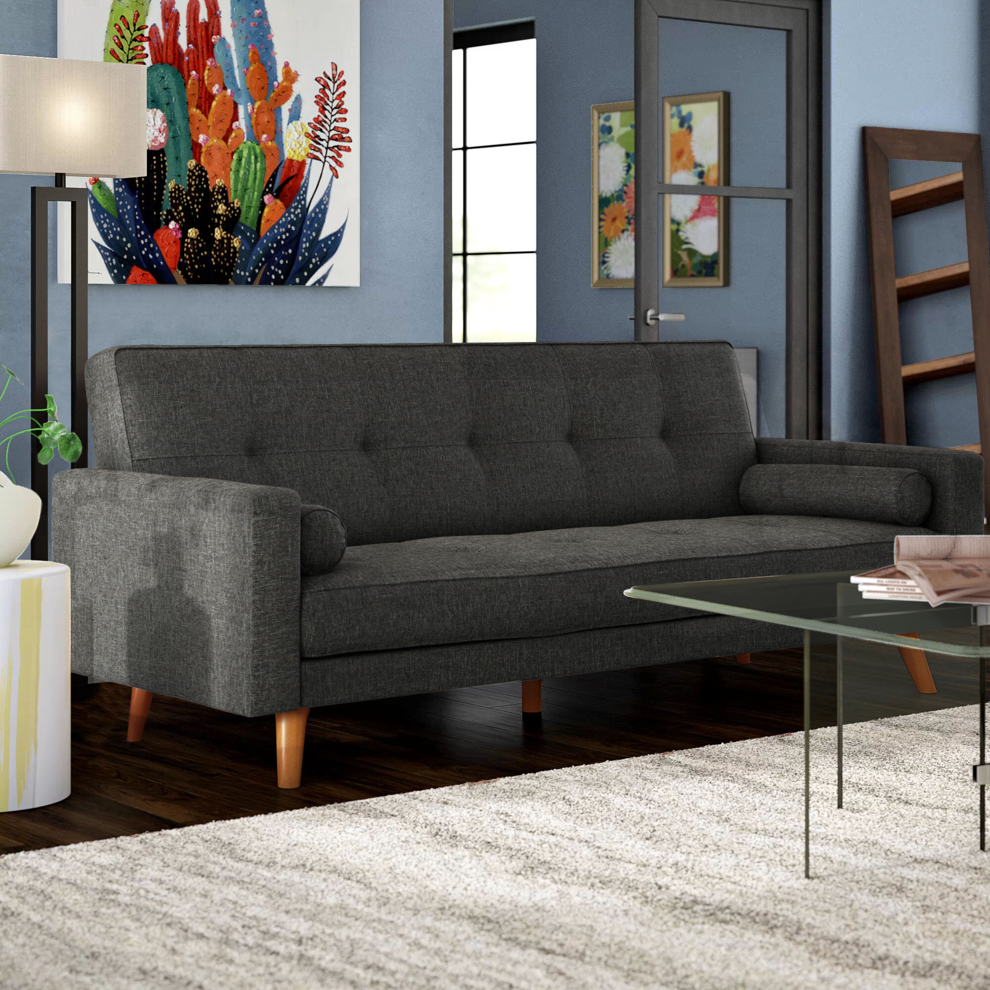 Langley Street Adrienne Sleeper Sofa U0026 Reviews | Wayfair