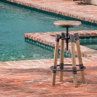 Adjustable Height Swivel Bar Stool by Home Loft Concept