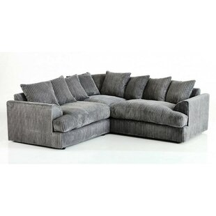 Grey Corner Sofas You\'ll Love | Wayfair.co.uk