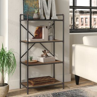 4869252d3f8 4 Tier Pipe Etagere Bookcase