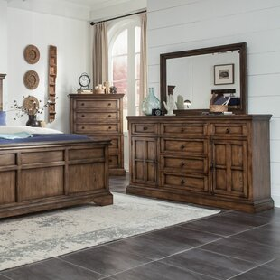 Pike Place 6 Drawer Combo Dresser With Mirror. By Broyhill®