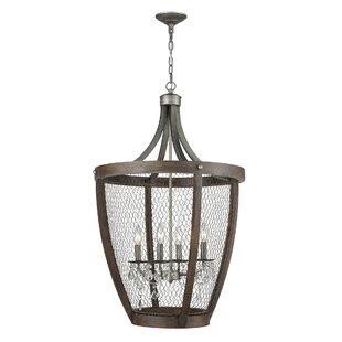 Wicker basket pendant light wayfair shaili basket 4 light pendant aloadofball Choice Image
