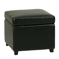 Massimo Storage Cube Ottoman With Hinged Top