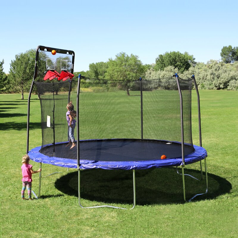 Looking for a trampoline basketball hoop or trampoline accessories? JumpSport has trampoline accessories including trampoline basketball hoops, balls, and more.