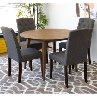Acuna Upholstered Dining Chair (Set Of 2) Great price