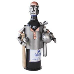 Sports Fanatic 1 Bottle Tabletop Wine Rac..