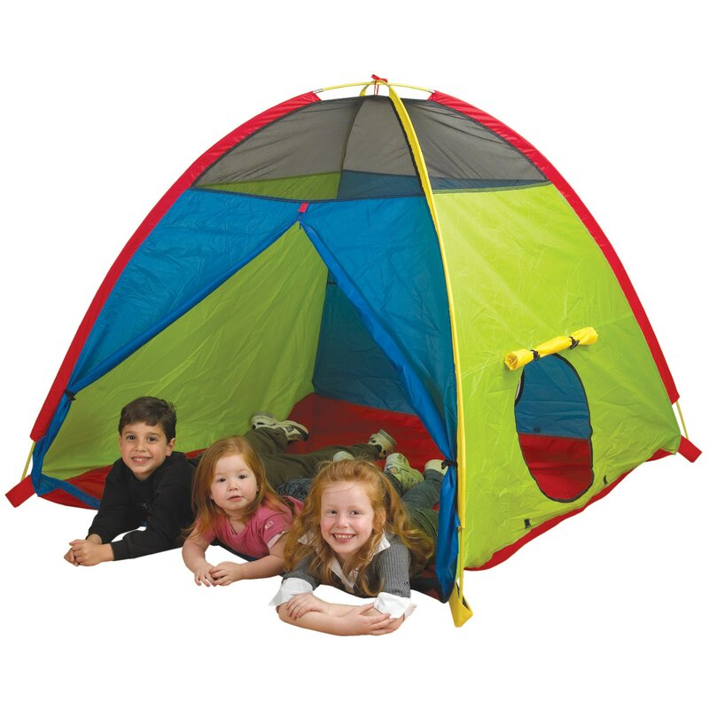 Super Duper 4 Kid Play Tent with Carrying Bag  sc 1 st  Wayfair & Pacific Play Tents Super Duper 4 Kid Play Tent with Carrying Bag ...