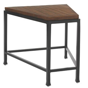 Ordinaire Ocean Club Pacifica Wedge Iron Side Table