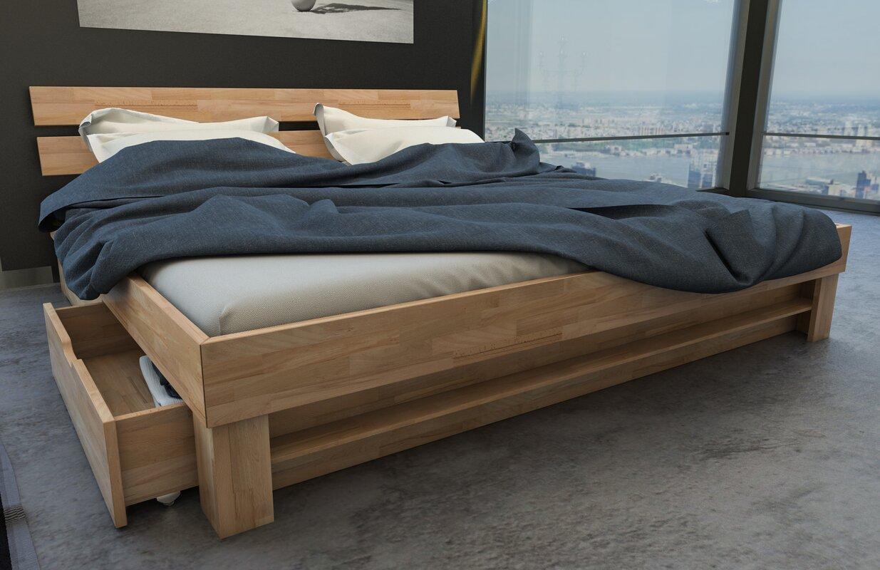 sam stil art m bel gmbh massivholzbett megan mit stauraum bewertungen. Black Bedroom Furniture Sets. Home Design Ideas
