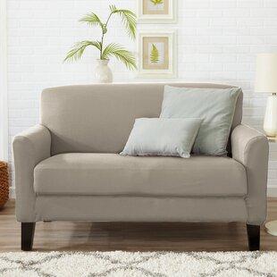 Beau Box Cushion Loveseat Slipcover