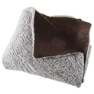Estrada Mink Faux Fur 3 Piece Comforter Set 0b6301df92058