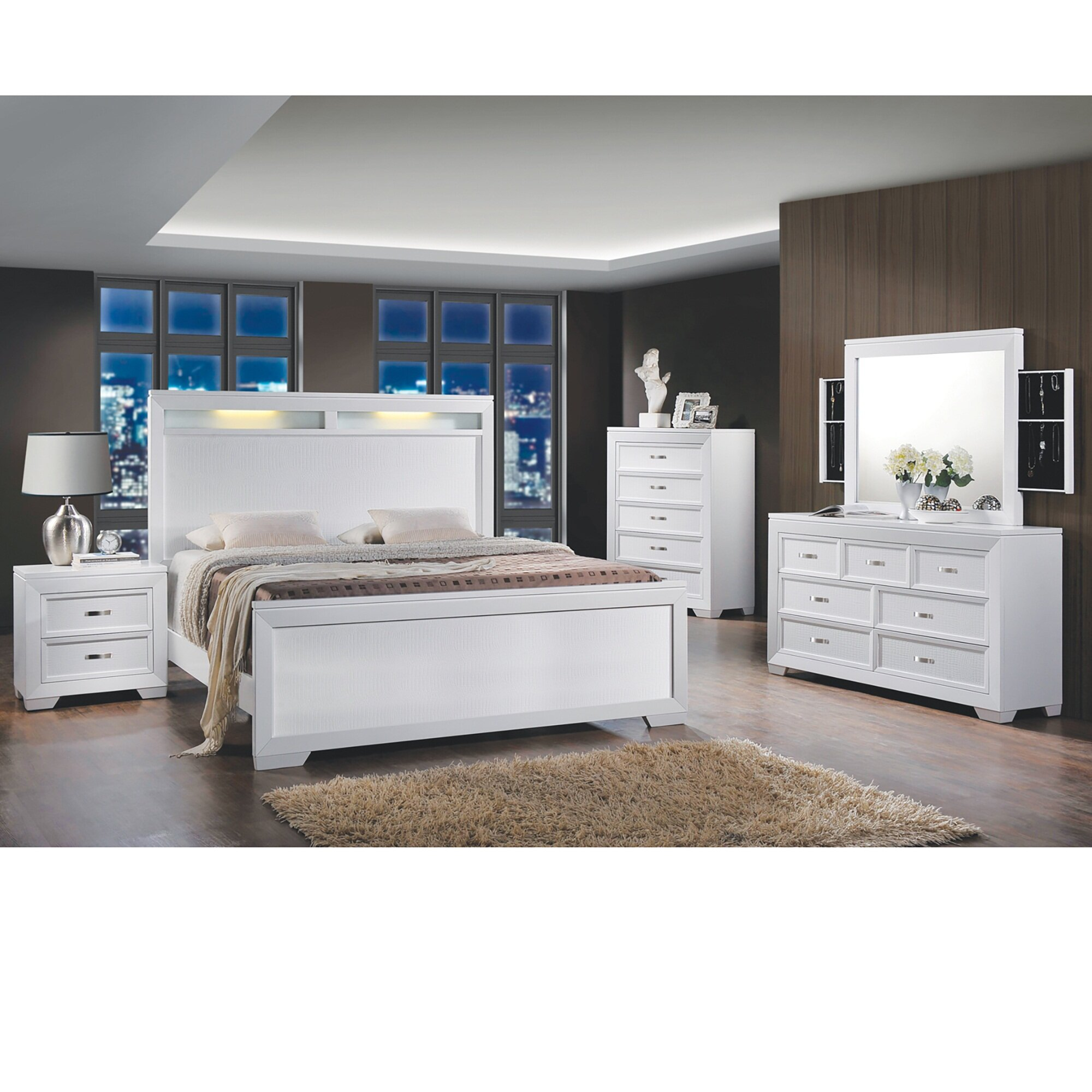 product hollywood pearl online swank usa set with bedroom drawers curio furniture caviar