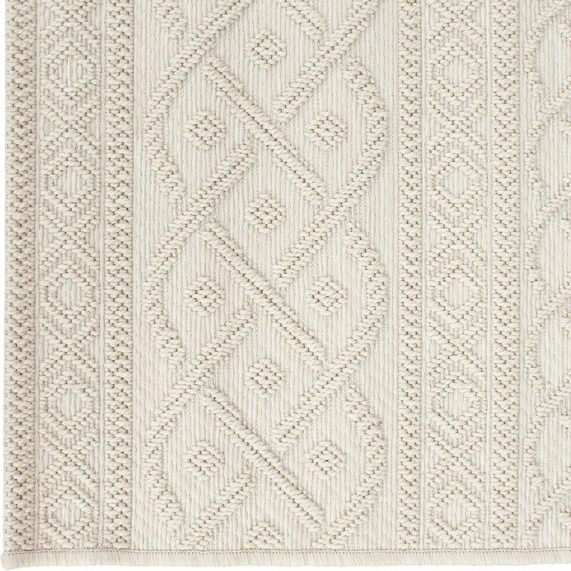 Acton Ivory Indoor/Outdoor Area Rug & Reviews | Joss & Main