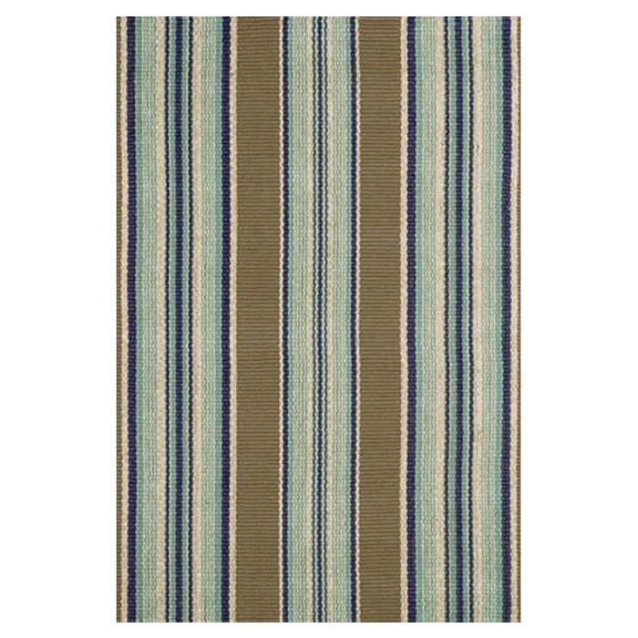 Dash and Albert Rugs Flat Woven Blue Area Rug & Reviews | Wayfair