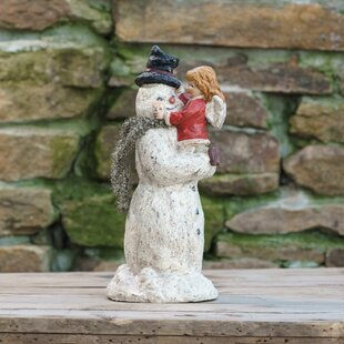 Snowman With Gabbie Figurine