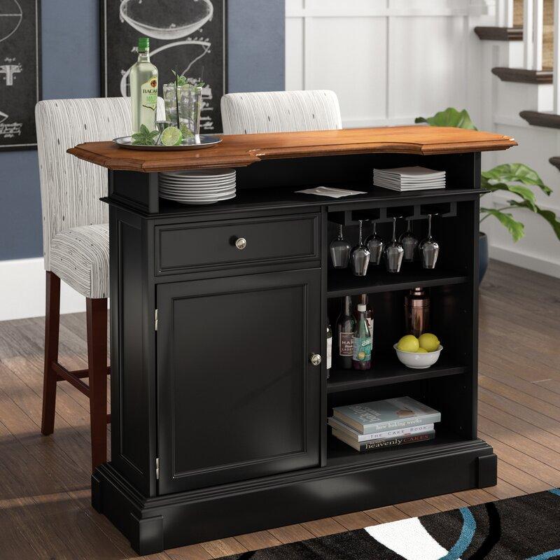 Three Posts Benally Home Bar Amp Reviews Wayfair
