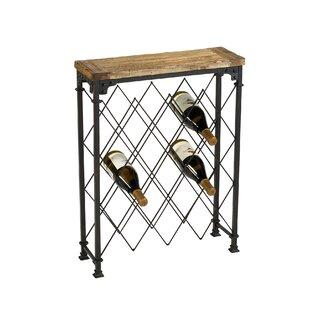 Hudson 9 Bottle Floor Wine Rack