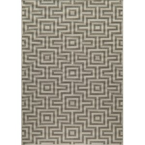 Wexler Hand-Woven Taupe Area Rug
