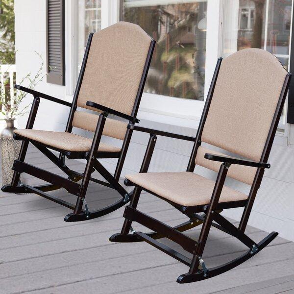 Exceptionnel Wood Folding Rocking Chair   Wayfair