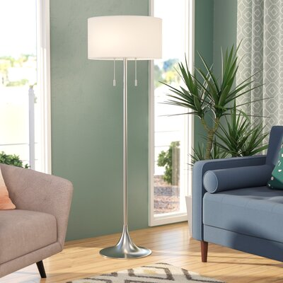 Amoralighting tiffany style 62 arched floor lamp reviews wayfair morrisonville 61 floor lamp mozeypictures Image collections