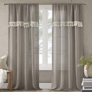 Modern Contemporary Bathroom Window Curtains Allmodern