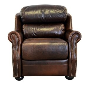 Beacon Genuine Top Grain Leather Club Chair ..