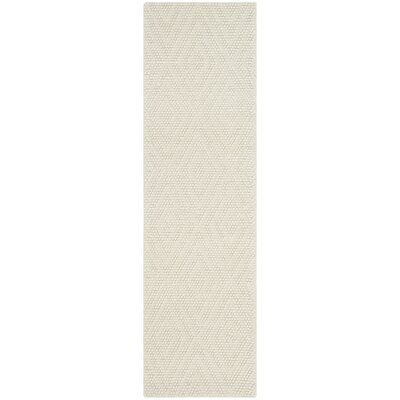 Bathild Hand-Tufted Cotton Ivory Area Rug Darby Home Co Rug Size: Rectangle 8' x 10'