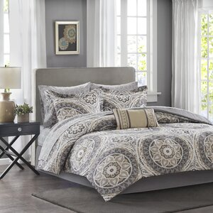 Almerton Complete Comforter and Cotton Sheet Set